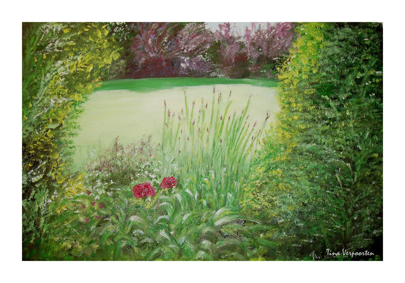 Tina Verpoorten - Un coin du jardin de Do.jpg