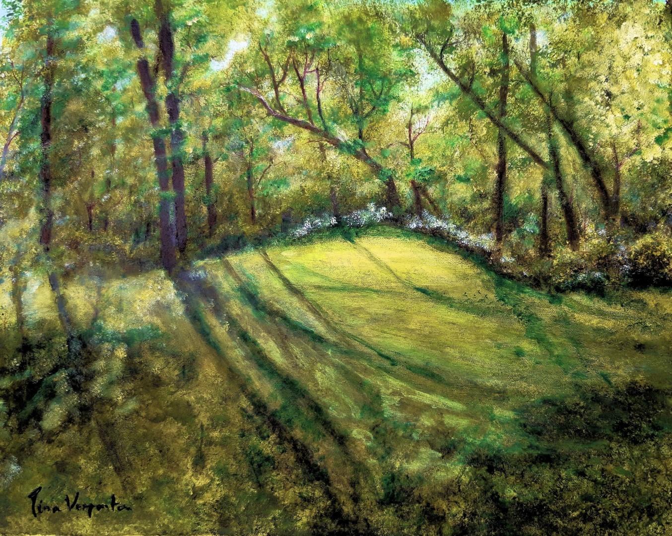 Tina Verpoorten - Le jardin de Nath.