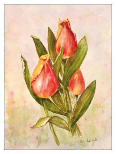 Trois tulipes